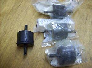 Wacker plate compactor tamper shockmount set of 4 for VPG165a 0029044