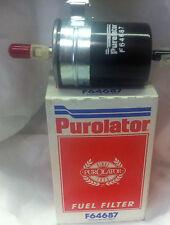 F64687 PUROLATOR FUEL FILTER Fits: CHEVROLET PONTIAC