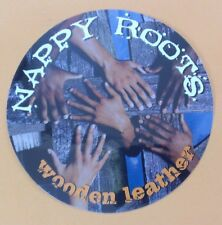 Nappy Roots Wooden Leather Hands Photo Rare Amp Guitar Case Board Sticker
