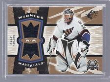 2006-2007 SPx Hockey Olaf Kolzig Capitals Winning Materials Jersey Card