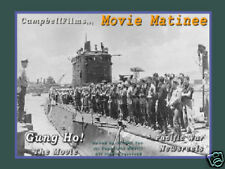 Gung Ho Submarine Story USMC Attack on Makin Island WW2 old films DVD Marines