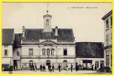 cpa 52 - FAYL BILLOT (Haute Marne) l' HÔTEL de VILLE MAIRIE Animé