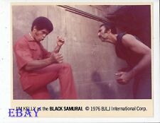 Jim Kelly Black Samurai VINTAGE Photo