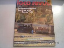 **j Loco Revue n°436 BB 63998 Roco Nuremberg 82 Photogravure chimique du laiton