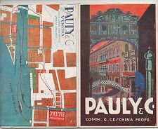 1930s Advertising Brochure for Pauly & Company Venice Italy