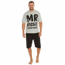 NEW Mens 'Mr Right (Sometimes)' Cargo Bay Pyjama set