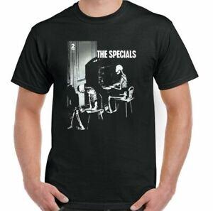 THE SPECIALS T-Shirt Mens Skeleton 2TONE Two Tone 2 Tone Ska Reggae Rude Boy TOP