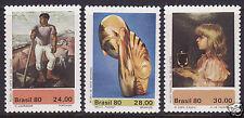 Briefmarken aus Süd- & Mittelamerika mit Kunst-Motiv