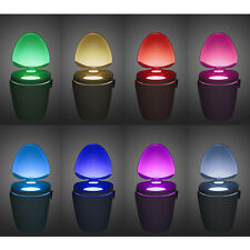 LED Toilet Hanging Light Bowl UV-C Light RGB LED Motion Sensor Toilet Light a