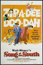DISNEY SONG OF THE SOUTH BRER RABBIT SUPER 8 COLOUR SOUND 200FT CINE 8MM FILM