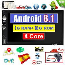 Bluetooth 7 '' HD 2 Din Android 8.1 Radio de coche GPS Navi WiFi FM MP5 Jugador