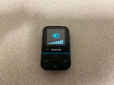SanDisk 32GB Clip Sport Go Wearable MP3 Player, Blue - volume problem works