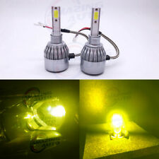 2020 NEW H3 LED Fog Lights Bulbs Professional Kit Canbus 35W 3000LM 4300K Yellow