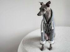 The Striped Dog Italian Greyhound/Whilpet Sullivan Hooded Jacket, Size S -NWT
