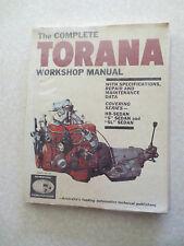1960s Holden Torana HB car workshop manual