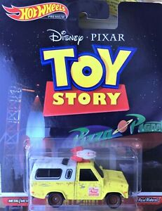 Hot Wheels * Pizza Planet Toy Story Truck * TODD * Disney ** 1:64