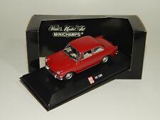 VW 1500 -1966 in Rot >> SoMo Auto Bild von MINICHAMPS 1:43 N V P