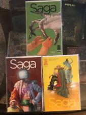 LOT OF 3 SAGA Comics #2 #4 #5 First Print Brian K Vaughan Staples Image 1st APP
