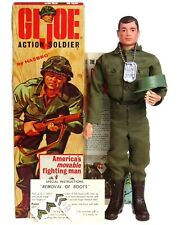 Vintage 1964 GI Joe Action US Army Soldier NOS Mint w/Rare Fold Top Box