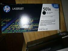 GENUINE HP 501A LaserJet Q6470A Black Toner Print Cartridge-NEW SEALED BOX