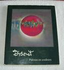 didonet poèmes en couleurs/réflexions/bellerive new art/1991/dédicace du peintre