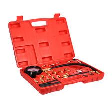 Fuel Injection Pump Tester Injector Pressure Test Gauge Diagnostic Tool Kit Car