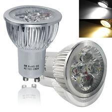 UK High Power 4W 5W 6W 7W GU10 MR16 E27 LED SMD Bulbs Spot Light Day/ Warm White