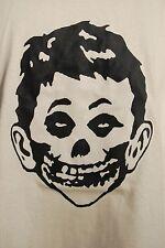 graphic retro art vintage mens t shirt cotton , S,M,L,XL ,What Me Worry, Misfits
