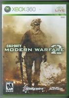 🔥🔥🔥 Call of Duty: Modern Warfare 2 (Xbox 360, 2009) (Complete w/ Manual)