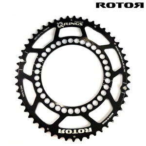 ROTOR QRINGS Road Chainring 130BCD x 5  9-10 Speed :Outer 52,53T