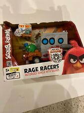 Angry Birds Race Racers Motorized Vehicle With Sounds NEW Damaged Box