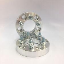 2 Pcs Hub Centric Wheel Spacers 5X108 5X108 | 63.4CB | 12x1.5 | 25MM For Jaguar
