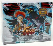 KONAMI YUGIOH SHINING DARKNESS BOOSTER BOX  BLOWOUT CARDS