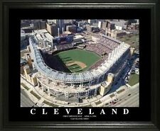 CLEVELAND INDIANS @ JACOBS FIELD 22X28 FRAME