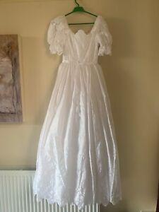 vintage berkertex Wedding dress