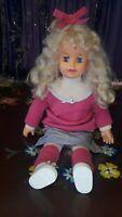 """Patty Playpal Doll Ideal 1987 28"""" Tall"""