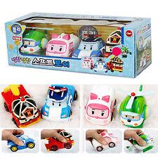 Roboca Poli Soft Toy Set Child Kids Diecast Over 12 Month Mini Ember Gifts Korea