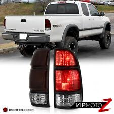 [SMOKE RED] 2000-2004 Toyota Tundra SR5 Limited Base Brake Signal Tail Lights
