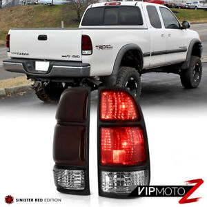 [SMOKE RED] For 2000-2004 Toyota Tundra SR5 Limited Base Brake Signal Tail Light
