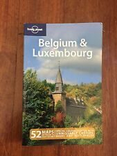 LONELY PLANET USED BELGIUM & LUXEMBOURG TRAVEL GUIDE BOOK AUS STOCK