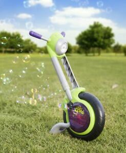 Gazillion Bubbles Cycle Blowing Maker Machine Blower Toy Kids Bubble Solution La
