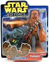 Star Wards Jedi Force Chewbacca Figure 2004 Wookie Action Tool Hasbro/Playskool