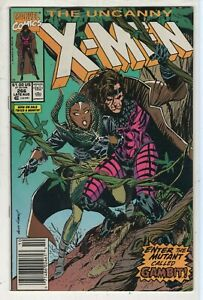 THE UNCANNY X-MEN #266 ~ MARVEL 1990 ~ 1st Full GAMBIT