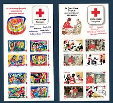 Lot 2 carnets Croix Rouge neufs