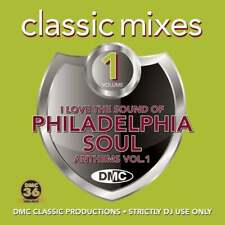 DMC I Love The Sound of Philadelphia Soul Anthems DJ Music CD Mixes Two Trackers