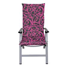 Auflage New Orleans Hochlehner Stuhlauflage Sitzkissen Sitzpolster