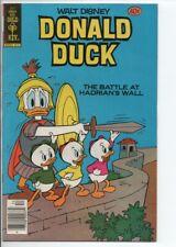 """Gold Key Comics Walt Disney's Donald Duck #214 Dec. 1979 VF/NM """"Hadrians Wall"""""""