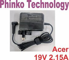 AC Adapter Charger For Acer tablet pc Iconia Tab W500 W500P W501 W501P 19v 2.15a