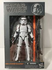 "Star Wars Black Series 6"" #09 Stormtrooper (Army Builder) - Orange Line"
