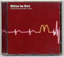 V.A. CD Mitten Ins Herz Vol. I DDR Amiga Ostrock Puhdys Renft Nina Hagen Karat